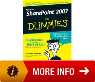 microsoft sharepoint 2007 for dummies pdf